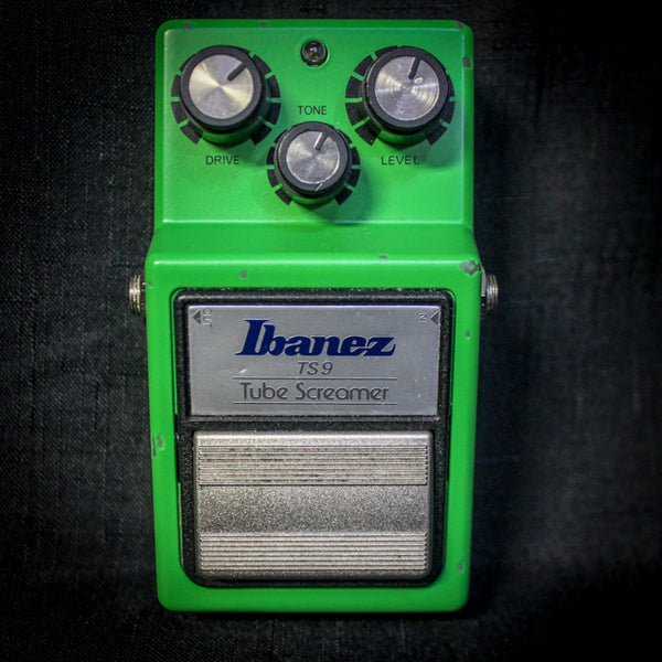 Used Ibanez TS9 Tube Screamer Overdrive Pedal 060219