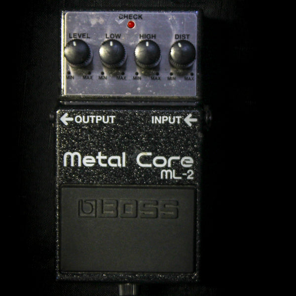 Used Boss ML-2 Metal Core Distortion Pedal 060219