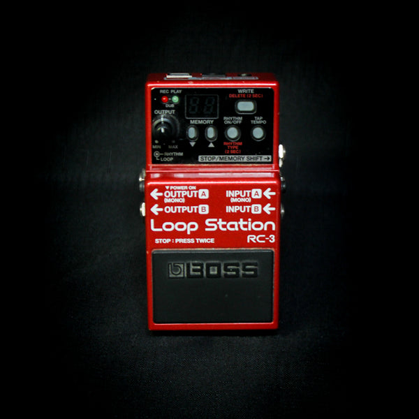 Used Boss RC-3 Loop Station Looper Pedal 070919