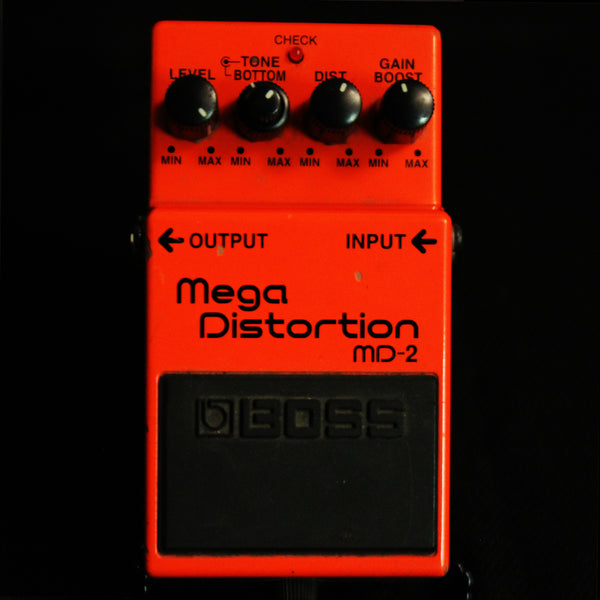 Used Boss MD-2 Mega Distortion Pedal 031619