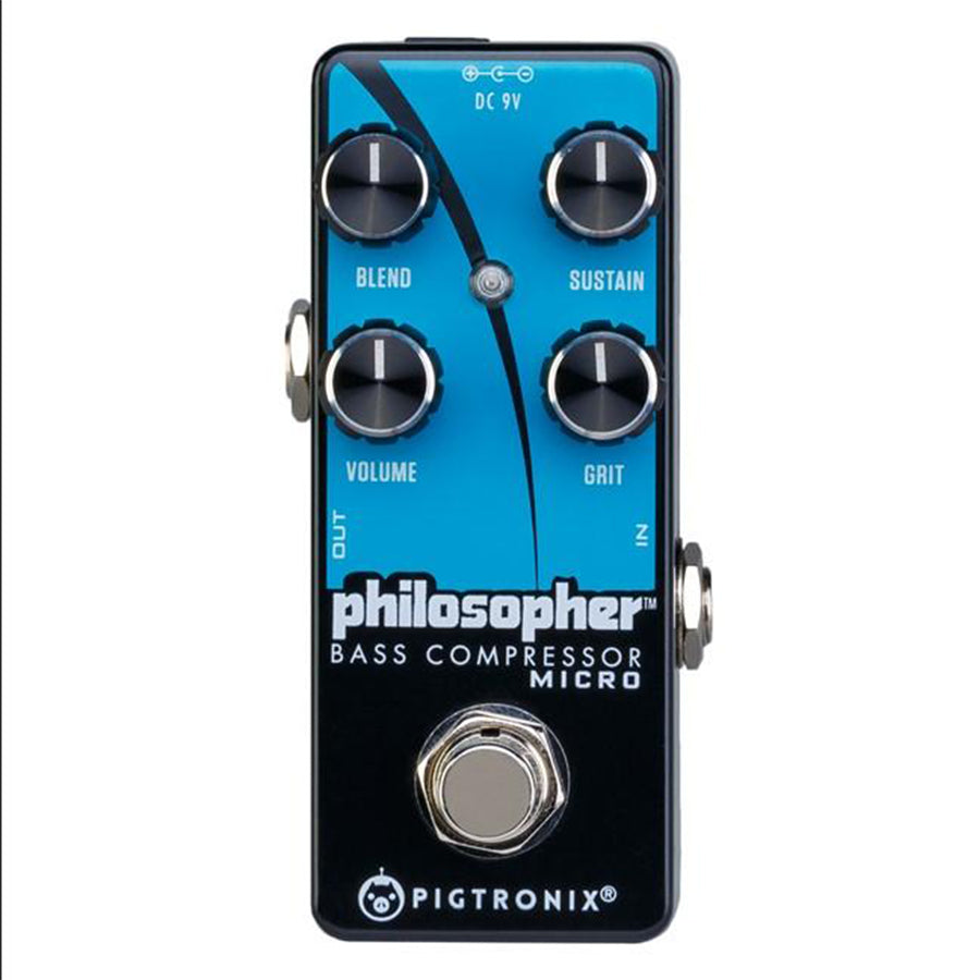 Pigtronix BCM Philosopher Bass Compressor Micro Pedal