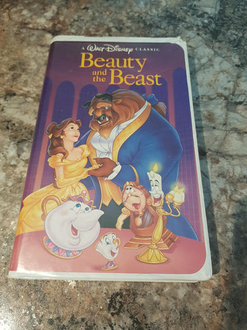 Beauty and the Beast (VHS, 1992) Black Diamond Edition