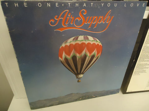 Air Supply ‎– The One That You Love LP