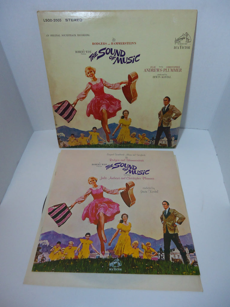 Rodgers & Hammerstein ‎– The Sound Of Music (An Original Soundtrack Recording) LP