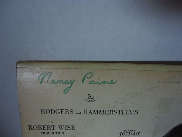 Rodgers & Hammerstein ‎– The Sound Of Music (An Original Soundtrack Recording)