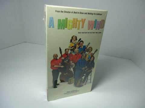 Mighty Wind VHS cassette tape new