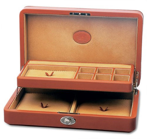 Underwood UN\206 Collectors Jewelry Case With Tray In Leather