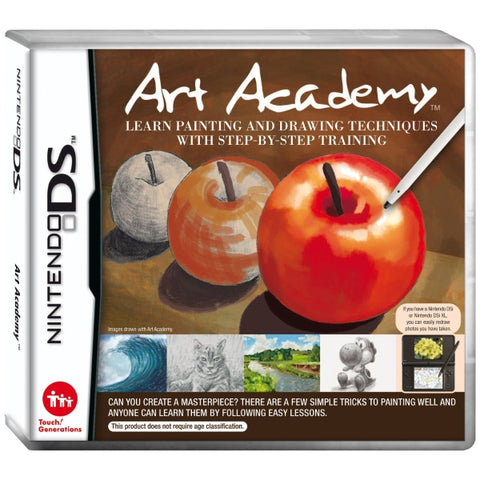 Art Academy: Learn Painting and Drawing Techniques With Step-by-Step Training [Nintendo DS DSi]