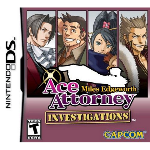 Ace Attorney Investigations: Miles Edgeworth [Nintendo DS DSi]
