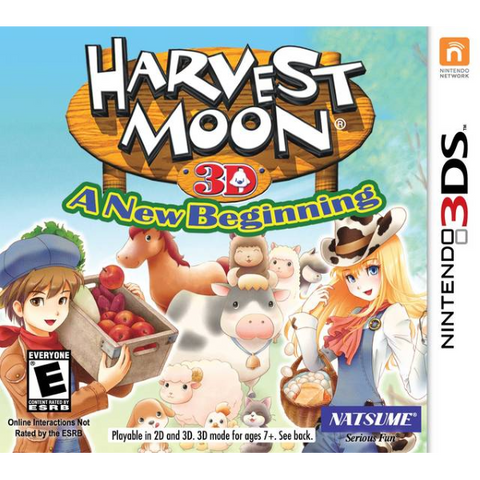 Harvest Moon 3D: A New Beginning [Nintendo 3DS]