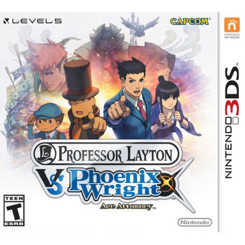 Professor Layton vs Phoenix Wright Ace Attorney [Nintendo 3DS]