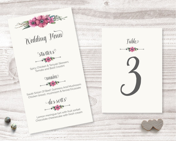 Wedding Table Decor - Wedding Fusions