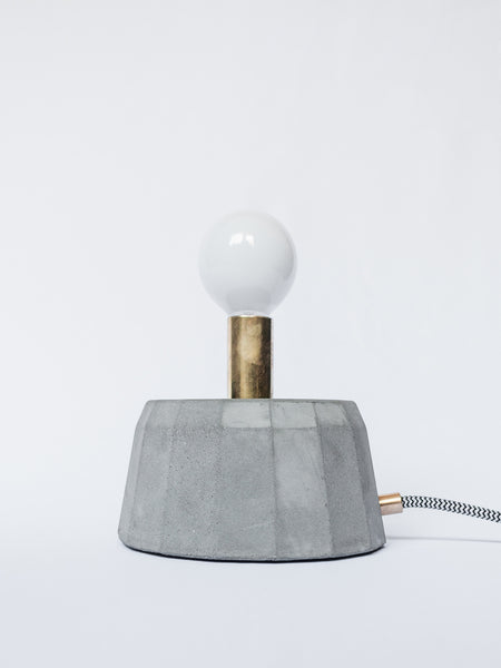 Concrete Cake Lamp - SOLD OUT