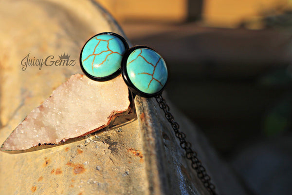 Turquoise Faux Stone - Juicy Gemz