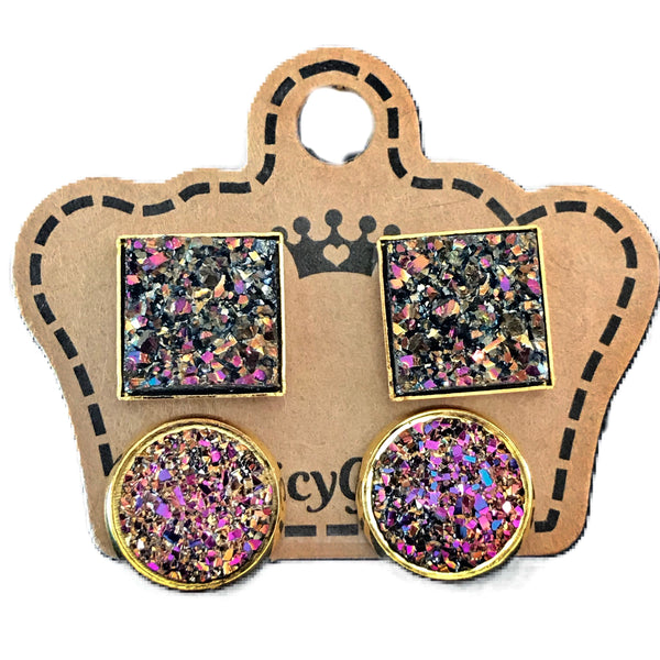 Multi Drusy Duo Pack - Juicy Gemz