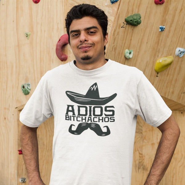 Adios Bitchachos T-shirt - Urbantshirts.co.uk