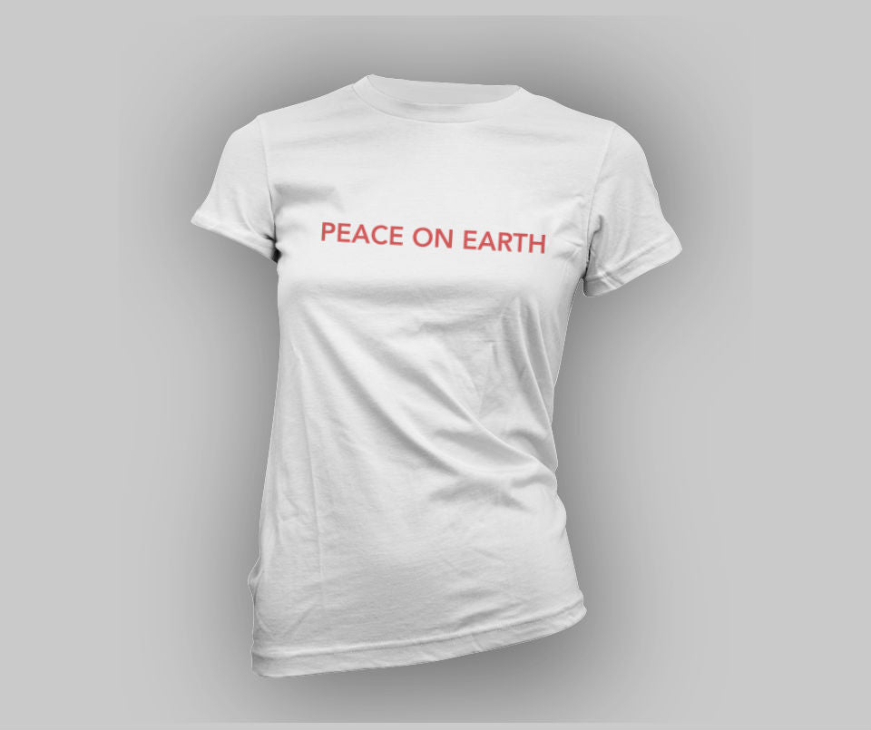 Peace on Earth T-shirt - Urbantshirts.co.uk