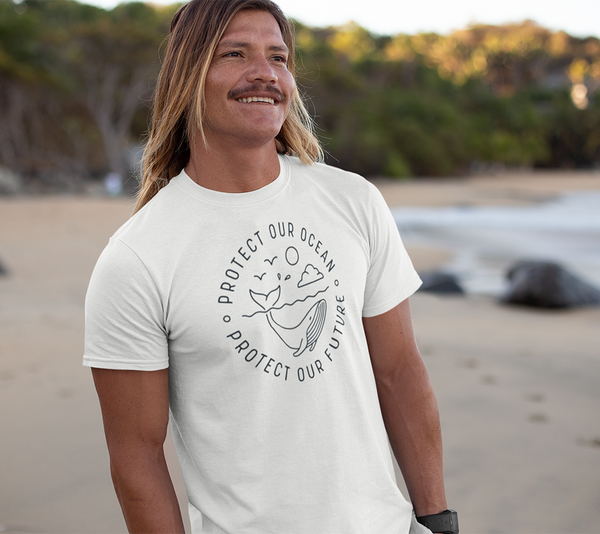 Protect our oceans T-shirt - Urbantshirts.co.uk