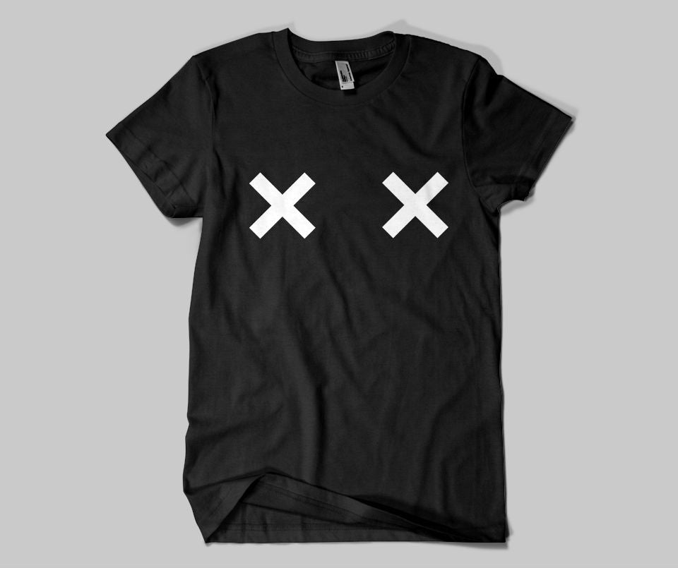 XX Nipples T-shirt - Urbantshirts.co.uk