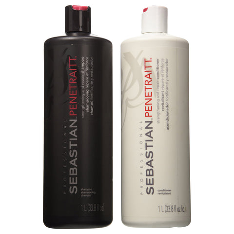 Sebastian Repair Shampoo and Conditioner 33.8 Duo Strengthening