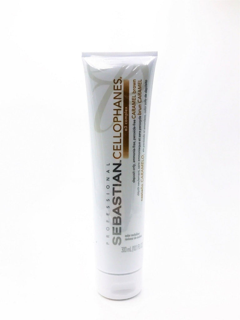 Sebastian Cellophanes Color Revitalizer CARAMEL BROWN 10.1 Oz