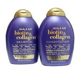 Organix Thick & Full Biotin & Collagen Shampoo AND Conditioner Set (13 Oz each)