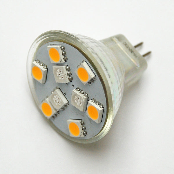 MR11 9 SMD 5050 Red / White Switchable LED Lamp