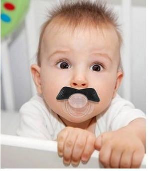 Funny Face Baby Pacifier Offer