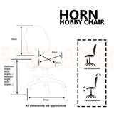 The Horn Hobby Chair Fully Adjustable