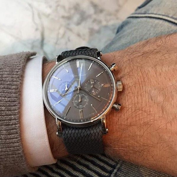 Grey Dial on Grey Stressed Strap
