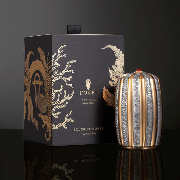 Voyage d'Or - 10th Anniversary Candle