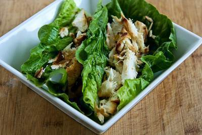 Low FODMAP Spice Rubbed Fish 'Tacos' in Romaine Lettuce Recipe