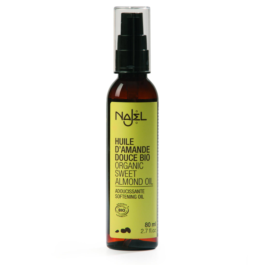 Najel Organic Sweet Almond Softening Oil