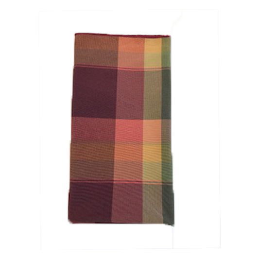 Bordeux Plaid Napkin