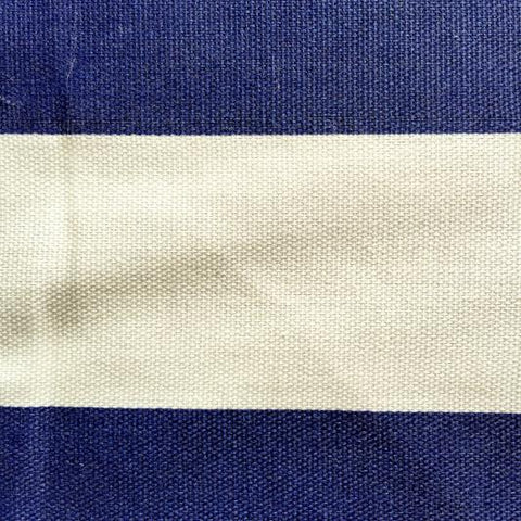 Navy Awning Stripe