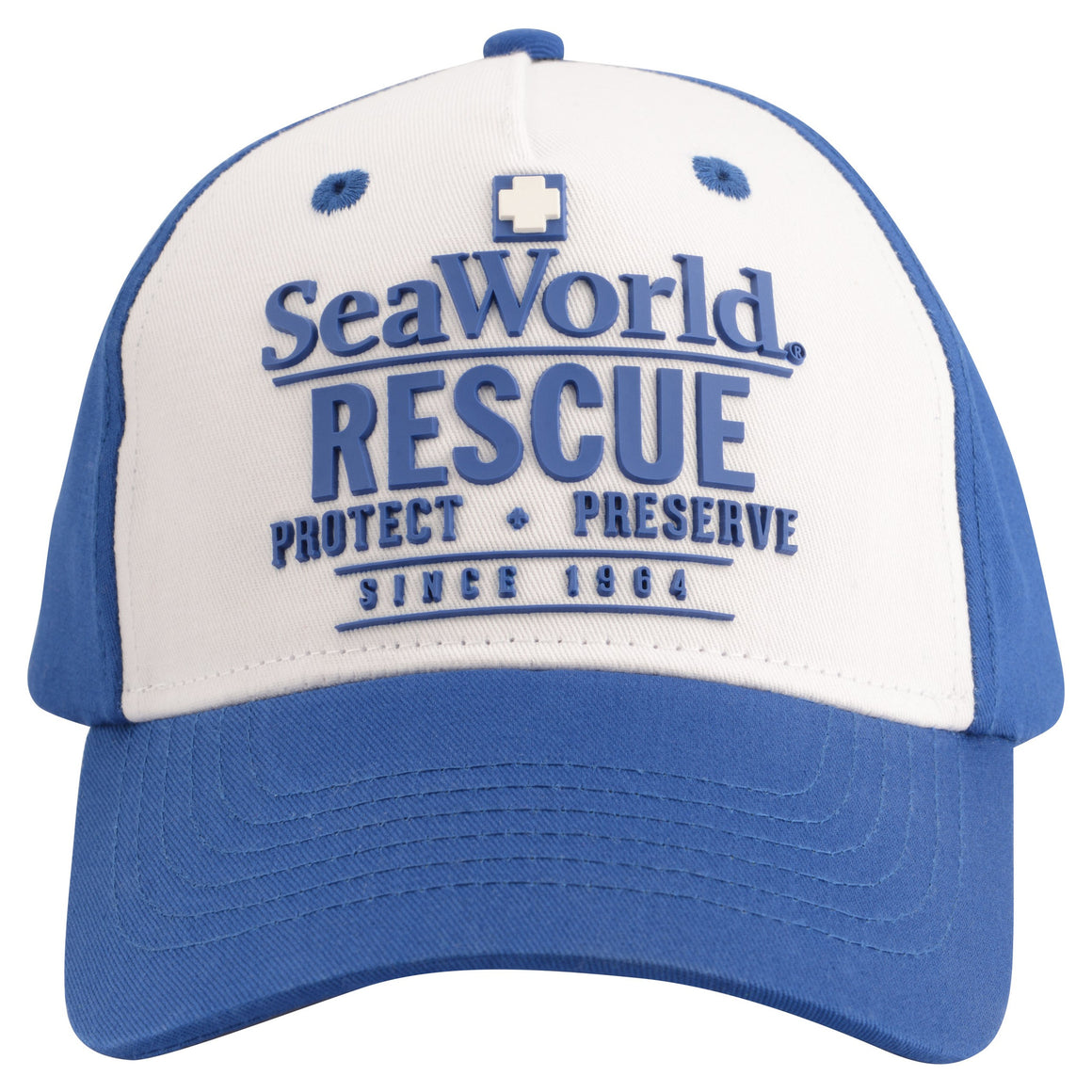 SeaWorld Rescue Youth Blue Baseball Cap