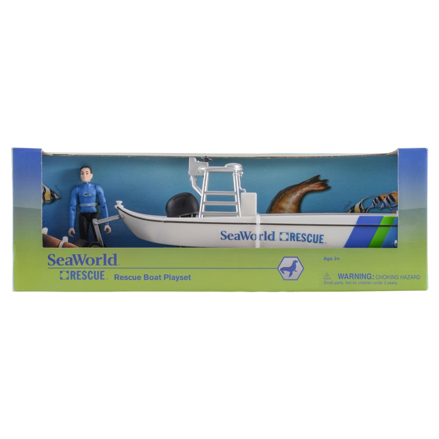 SeaWorld Rescue Boat Playset