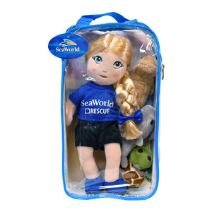 SeaWorld Rescue Plush Doll with Animals
