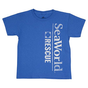 SeaWorld Rescue Blue Youth Tee