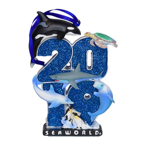 SeaWorld 2019 Dated Resin Ornament