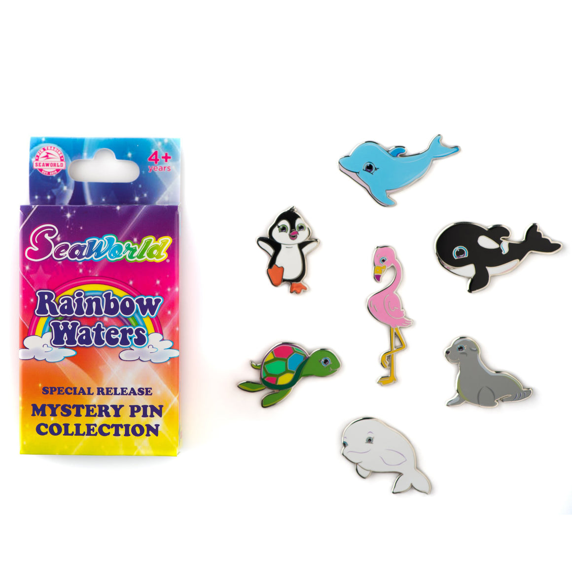 Rainbow Waters - 2 Mystery Pins