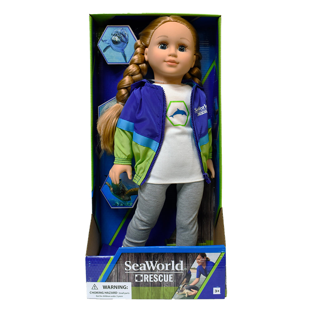 "SeaWorld Rescue 18"" Doll"