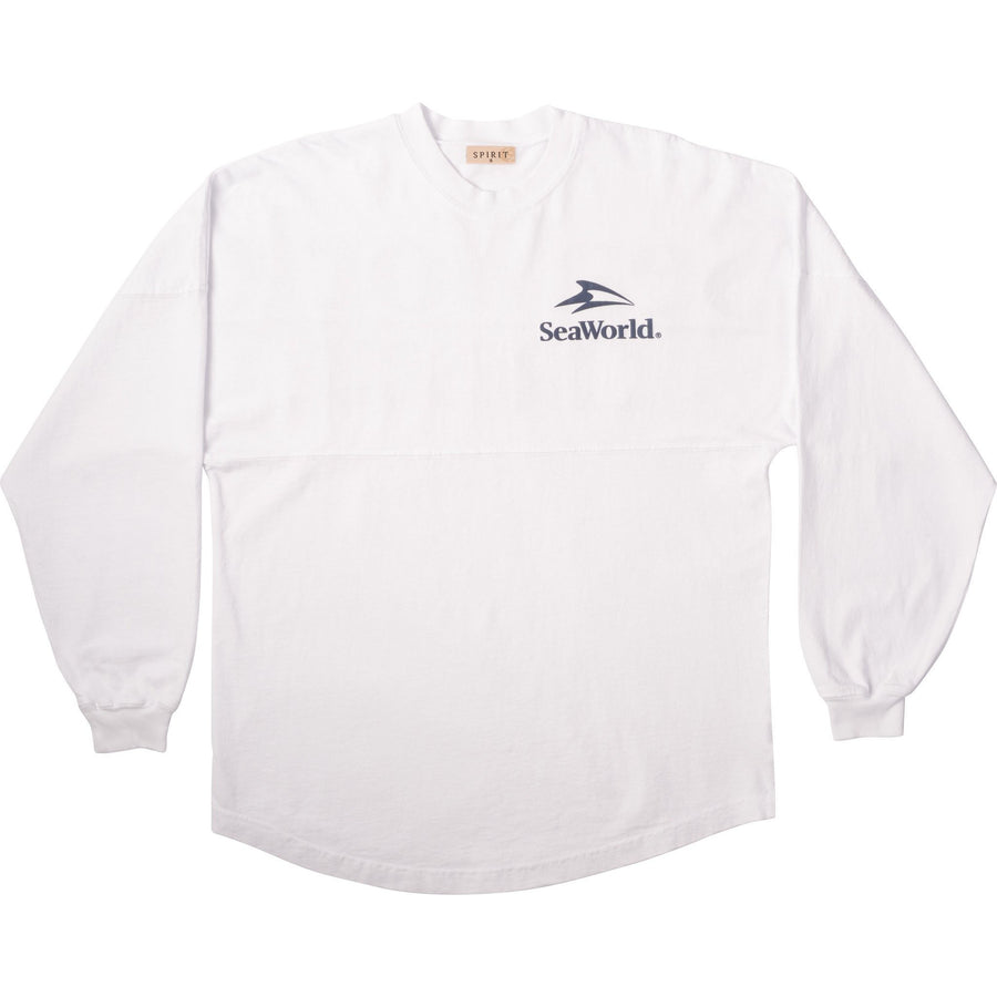 SeaWorld Rescue Spirit® White Long Sleeve Jersey
