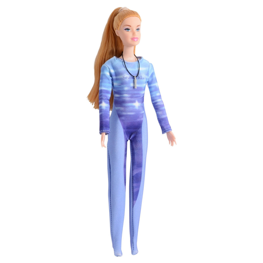 SeaWorld Whale Trainer Doll Playset