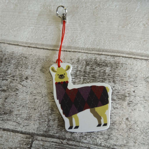Alpaca in a Jumper - Badge, Charm or Magnet