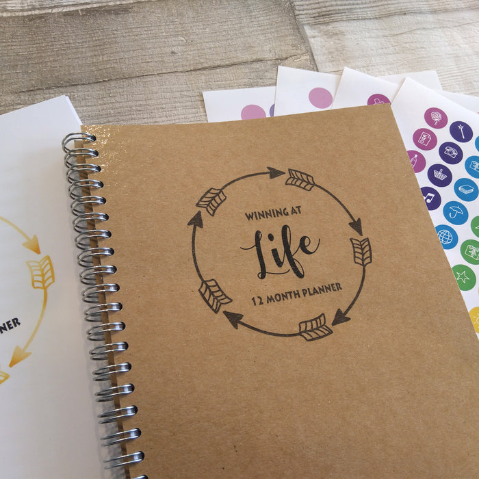 Winning at Life - 12 Month Planner