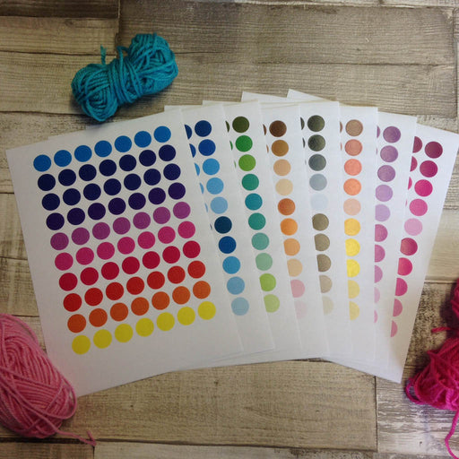 Yarn Shades Sticker Set