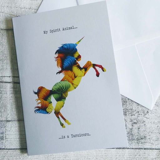 Yarnicorn Greetings Card