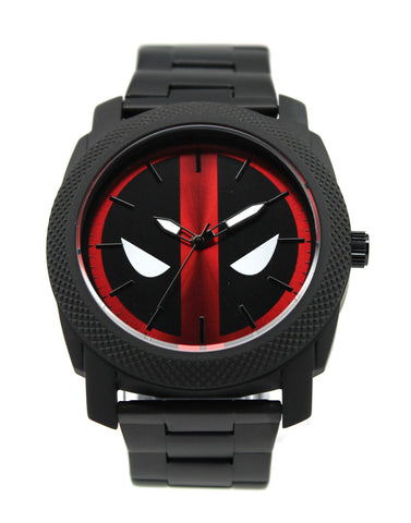 Deadpool Stainless Steel Mens Watch (DEP8001) - SuperheroWatches.com