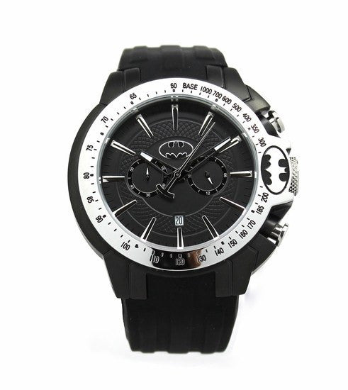 "Batman ""Justice"" Silver Mens Sport Watch (BAT8085) - SuperheroWatches.com"